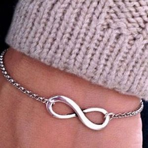 Accessories - 🍃🌷🍃infinity Bracelet Silver 🍃🌷🍃